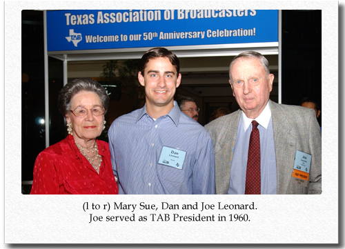 Joe Leonard at TAB's Annual Convention