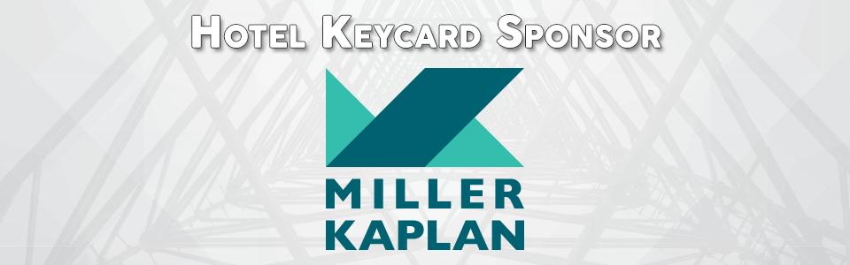 Keycard Sponsor: Miller Kaplan