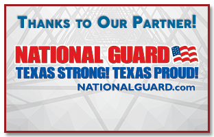 Thanks for our Breakfast Partner Texas Army National Guard