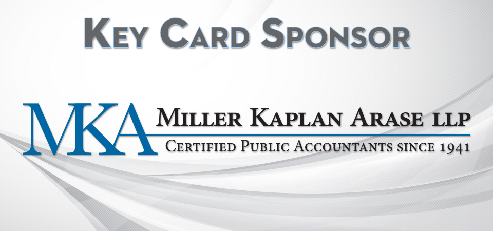 Thanks to our Key Card Sponsor