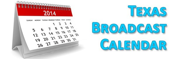 Broadcast Calendar now available!