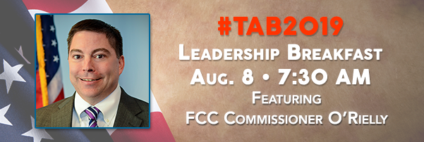 TAB Welcomes FCC's O'Rielly