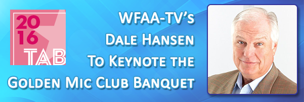 Join Dale Hansen at the Golden Mic Club Banquet