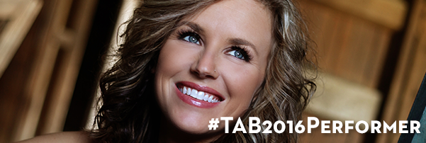 Kristen Kelly to perform at #TAB2016