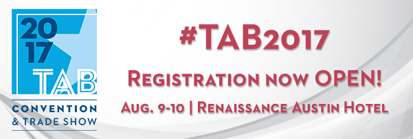 Register today for TAB's Biggest Event!
