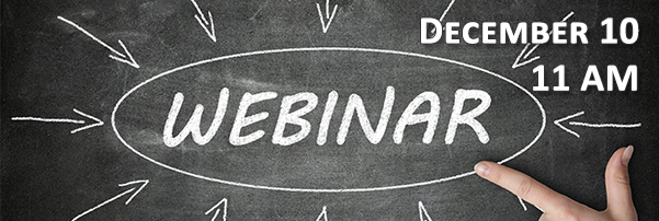 Join us for a FREE Webinar!