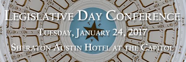 TAB's Legislative Day - 1/24/17