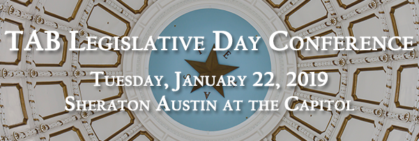 TAB's Legislative Day Conference - 1/22/19