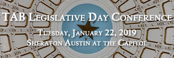 TAB's Legislative Day Conference - 1/22/19