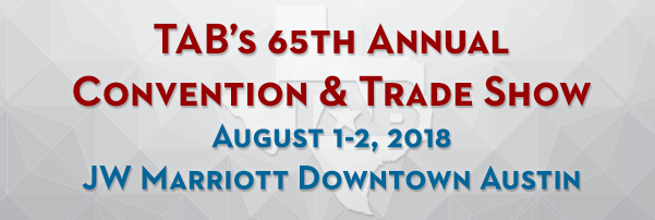 Save the Date! TAB2018 set for Aug. 1-2 at the JW Marriott Downtown Austin