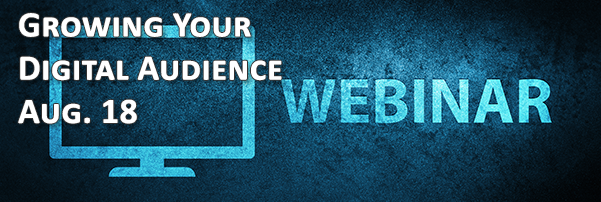 Join Us for Four Webinars in August